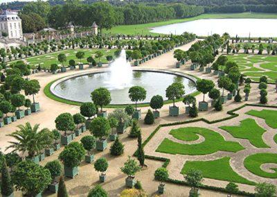 Orangerie at Versailles Garden