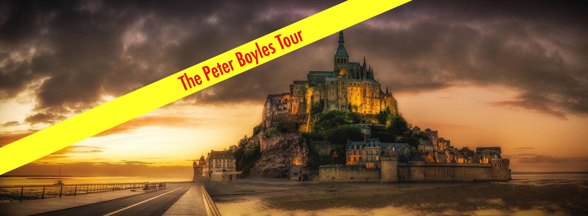 Look Where Peter Boyles is Headed