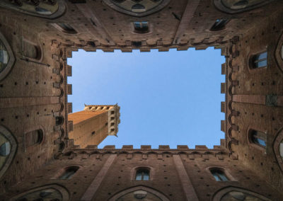 Looking Skyward in Medieval Siena