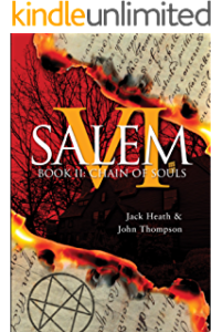 Jack Heath - author of the book 'Salem VI - Rebecca Rising' which is being made into a movie