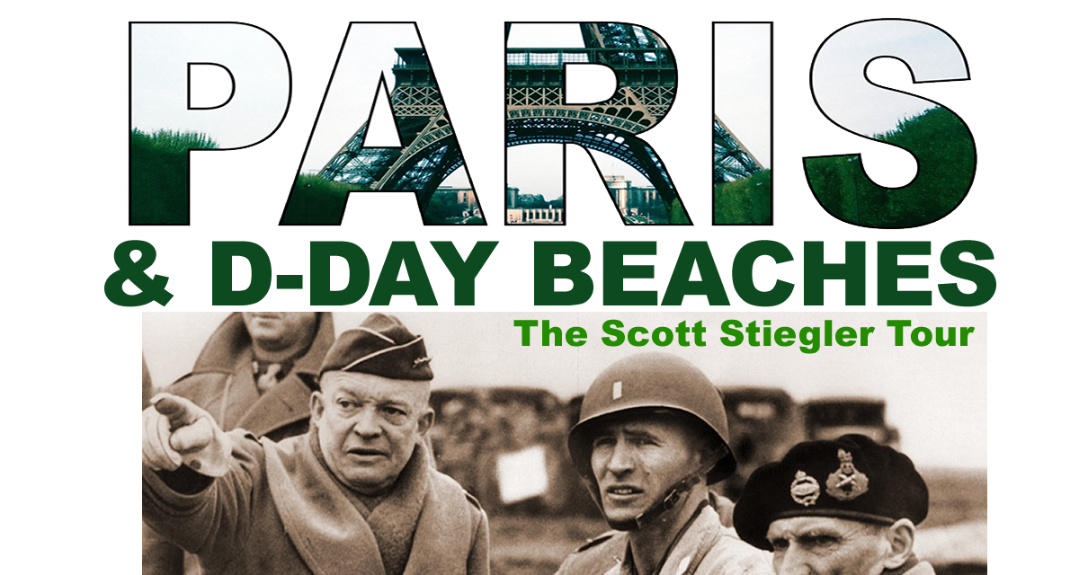 THE D DAY BEACHES / THE BATTLE OF THE  BULGE / THE NAZI SURRENDER AT REIMS / CHAMPAGNE COUNTRY / THE  BULLET TRAIN / VERSAILLES / PARIS ……. optional  one week extension to PROVENCE+#+
