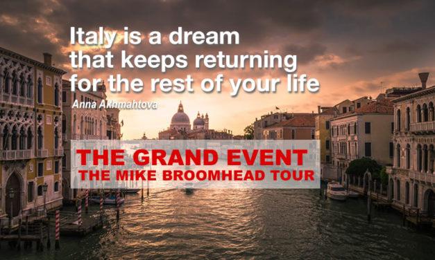 THE GRAND EVENT: Rome, Florence, Tuscany, Pompeii, San Gimignano, Cinque Terre, Venice+!+
