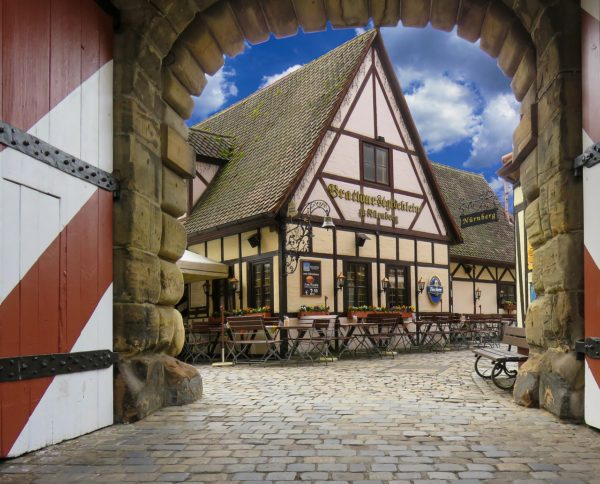 Medieval Architecture in Nurnberg