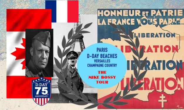 THE D DAY BEACHES / THE BATTLE OF THE  BULGE / THE NAZI SURRENDER AT REIMS / CHAMPAGNE COUNTRY / THE  BULLET TRAIN / VERSAILLES / PARIS ……. optional  one week extension to PROVENCE